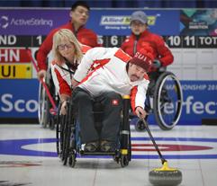 curling handisport swisscurling