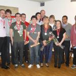juniors médaillés 2011