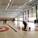 pistes de curling